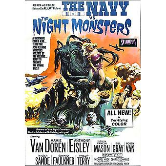 Flåde Versus the Night monstre [DVD] USA importerer