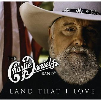 Charlie Daniels Band - Land, som jeg elsker [CD] USA importerer