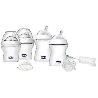 Chicco Full Set Home Natural Feeling 0M + (Babies , Essen , Babyflaschen , Babyflaschen)