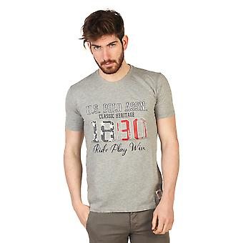 U.S. Polo T-shirts Grey Men