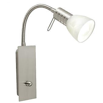 Eglo Prince1 1 Light Modern Spotlight Wall Light Adjustable With