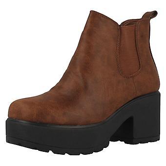 Mädchen-Spot auf Ankle Boots H3039