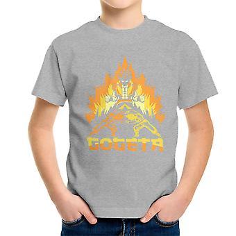 Dragonball Z Goteta Super Saiyan Power Up Kid's T-Shirt