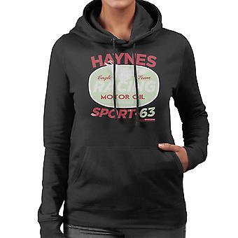 Haynes Eagle Team Racing Motorenöl Frauen das Sweatshirt mit Kapuze