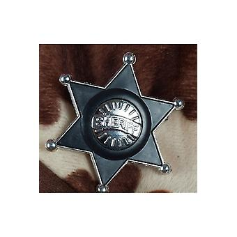 Smykker og kroner plast sheriff stjerne