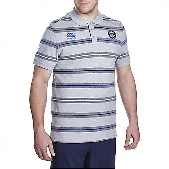 CCC Bath rugby stripe polo [grey]
