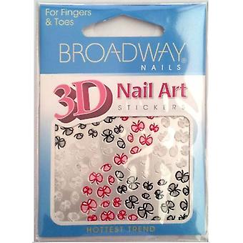 Kiss Nails Nail Art Stickers- Have To Have Broadway (Make-up , Nails , Decoration)