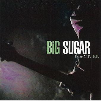Stort sukker - kære MF EP [CD] USA importerer