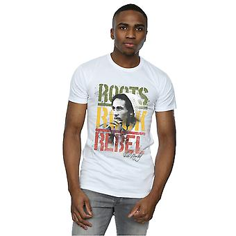 Bob Marley mænds rødder Rock Rebel T-Shirt