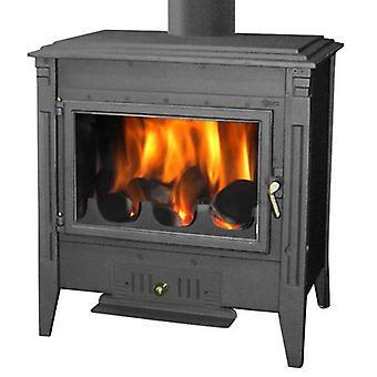AFT 700 Painted Wood stove Chapa Black Out Vertical Ø150