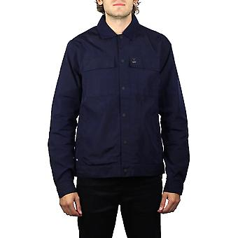 Luke 1977 Staunton Shacket (Dark Navy)