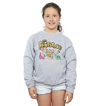 The Flintstones Girls Group Distressed Sweatshirt