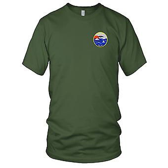 US Navy SS-123 USS S-18 Embroidered Patch - Mens T Shirt