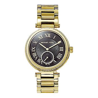 Michael Kors Watches Mk5989 Skylar Black & Gold Tone Stainless Steel Ladies Watch