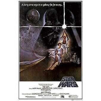 Star Wars Episode 4 New Hope Style A Poster Poster Print