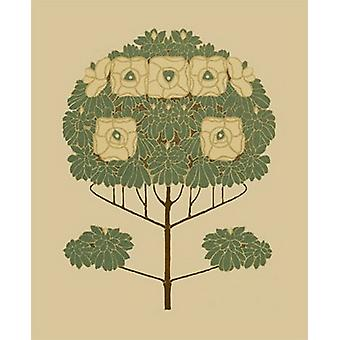 Arts and Crafts Tree II Poster Print by Vision studio (13 x 19)