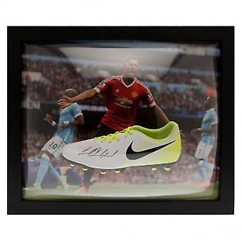Manchester United Rashford Signed Boot (Framed)