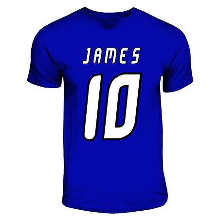 T-shirt James Rodriguez Porto Hero (royal blu)