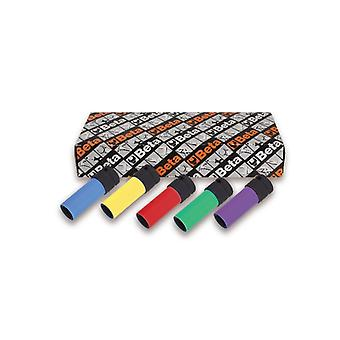 Beta 720 Lc/S5 5 Impact Sockets Coloured Polymeric Insert 1/2 Dr