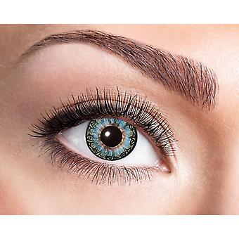Natural contact lens blue black Corona
