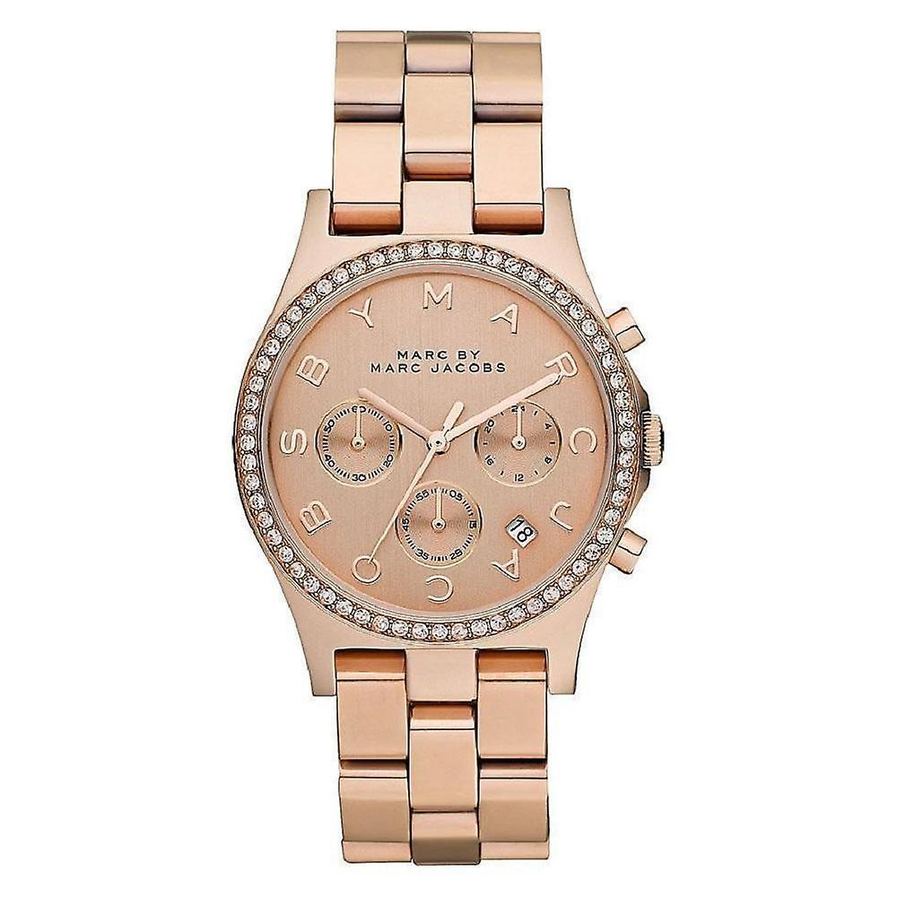Marc by Marc Jacobs Ladies' Henry Watch MBM3118