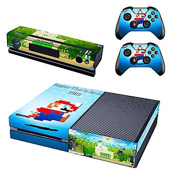 REYTID Super Mario Bros Xbox One Console Skin / Sticker + 2 x Controller Decals & Kinect Wrap - Full Set - Microsoft XB1