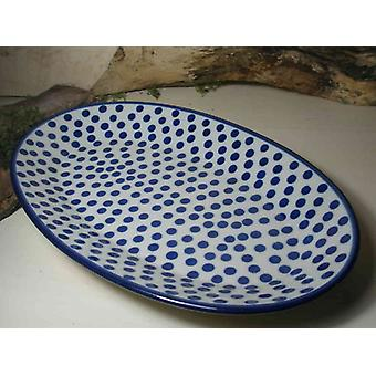 Plade, oval, 35,5 x 21 cm, tradition 24, BSN 10000