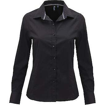 Premier Womens/Ladies Friday Long Sleeve Polycotton Smart Casual Shirt