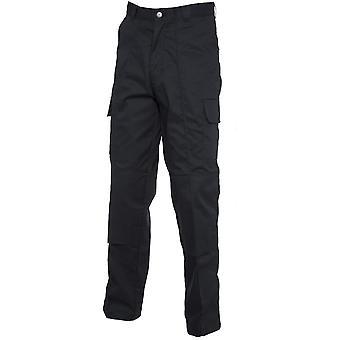 Uneek Mens Uneek Knee Pad Multi Pocket Cargo Workwear Trousers UC904