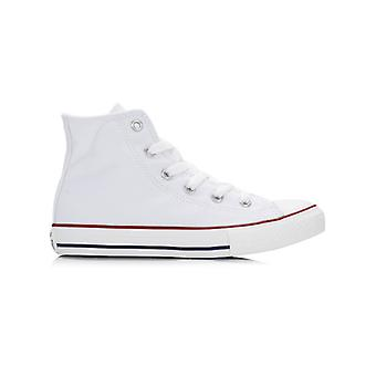 Converse Junior White Chuck Taylor Hi Trainers