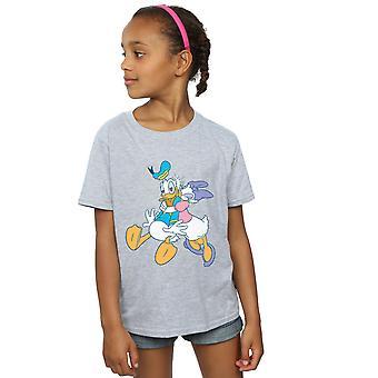 Disney Mädchen Donald und Daisy Duck Kiss T-Shirt