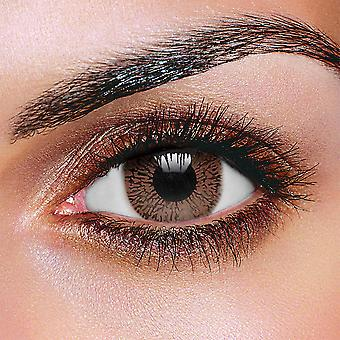 Chocolate Brown One Tone Contact Lenses (Pair)