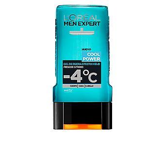 L'Oreal Make Up Men Expert Shower Gel Total Cool Power 300 Ml For Men