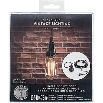 Light Socket W/Cord & On/Off Switch-15.5' Cord