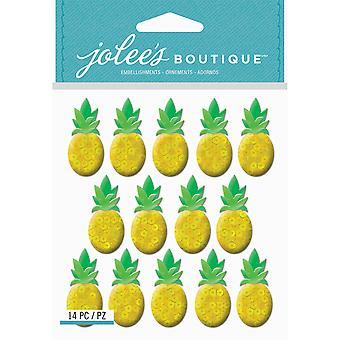 Jolee's Boutique Dimensional Stickers-Pineapple