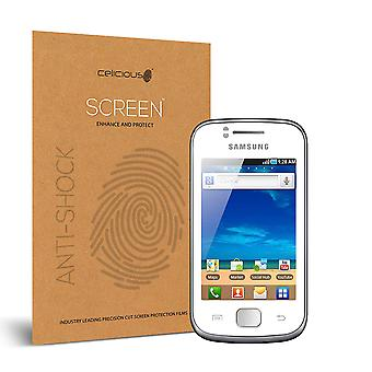 Celicious Impact Anti-Shock Shatterproof Screen Protector Film Compatible with Samsung Galaxy Gio