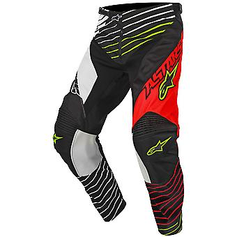 Alpinestars Red-White-Black 2017 Racer Braap Kids MX Pant