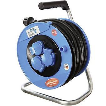 as - Schwabe CO11122 Cable reel 40 m Black PG plug