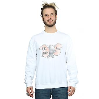 Disney Men's Dumbo Happy Day Sweatshirt