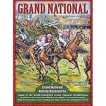 Grand National stalowego muru Zarejestruj 400 X 300 Mm