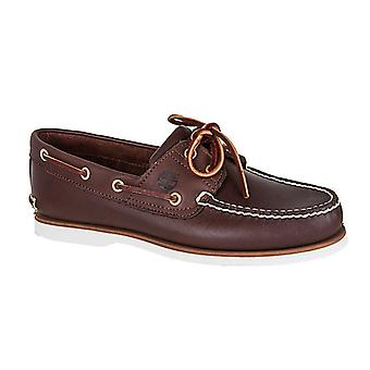 Timberland classic boat sailing shoes real leather boat shoes men