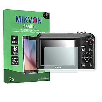 Nikon COOLPIX A10 Screen Protector - Mikvon Health (Retail Package with accessories)