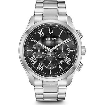Bulova mens watch classic chronograph 96 B 288