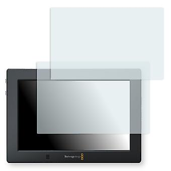 Blackmagic video assist 4 K screen protector - Golebo crystal clear protection film