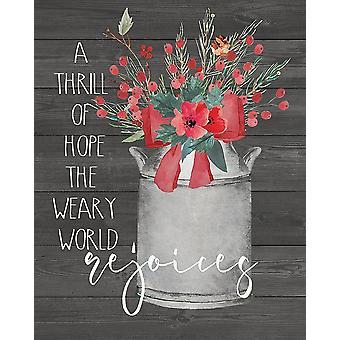 Rejoices Poster Print by Jo Moulton