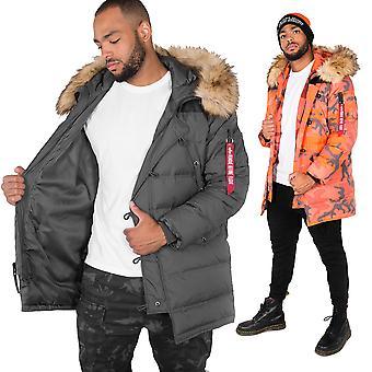 Alpha industries men's down jacket N3-B buffer