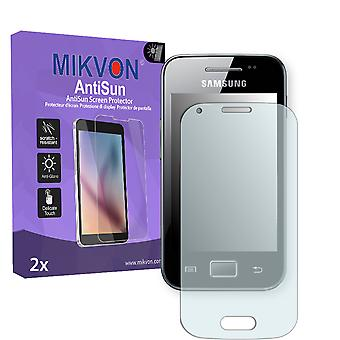 Samsung Galaxy Ace Style Screen Protector - Mikvon AntiSun (Retail Package with accessories)