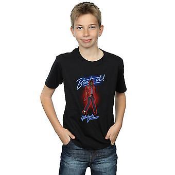 マイケル ・ ジャクソン少年ビート煙 t シャツ