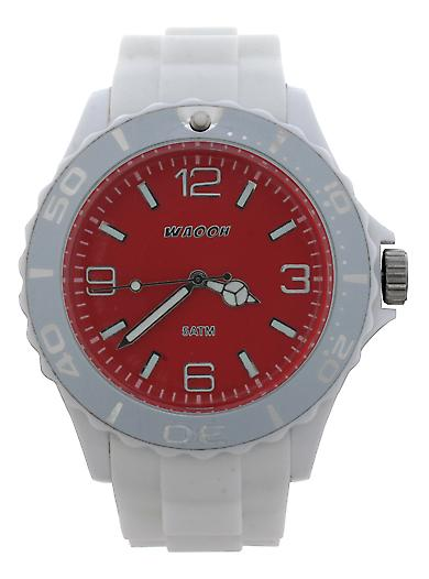 Waooh - MC42 Watch White Dial Color