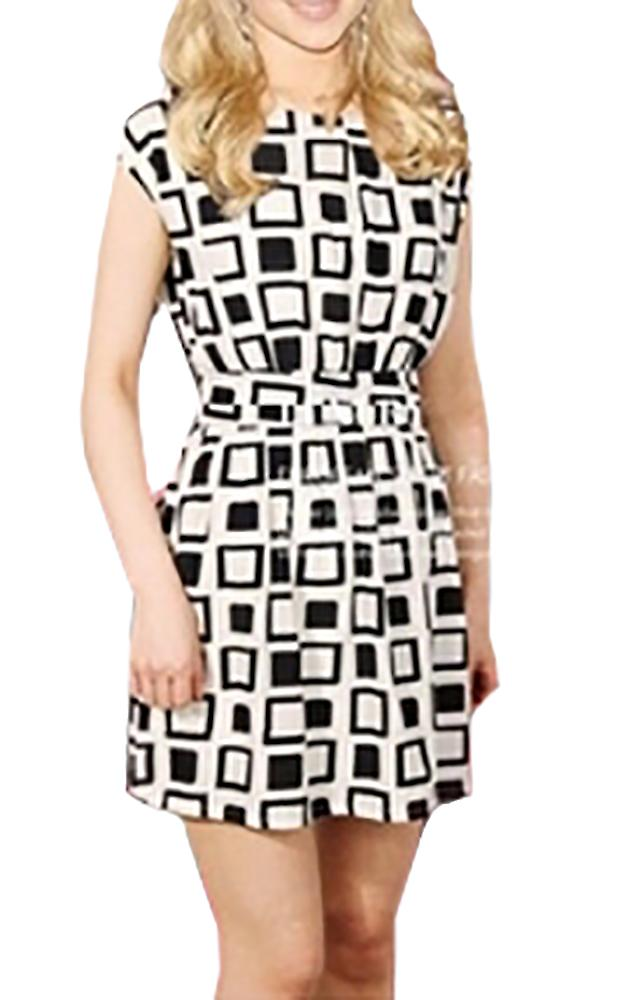 Waooh - Dress pattern square Lody